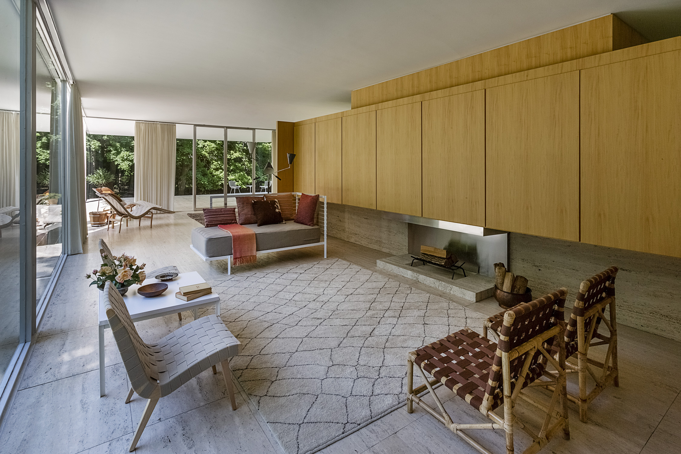 The Farnsworth House gets period decor in an effort to shine light on its mysterious owner